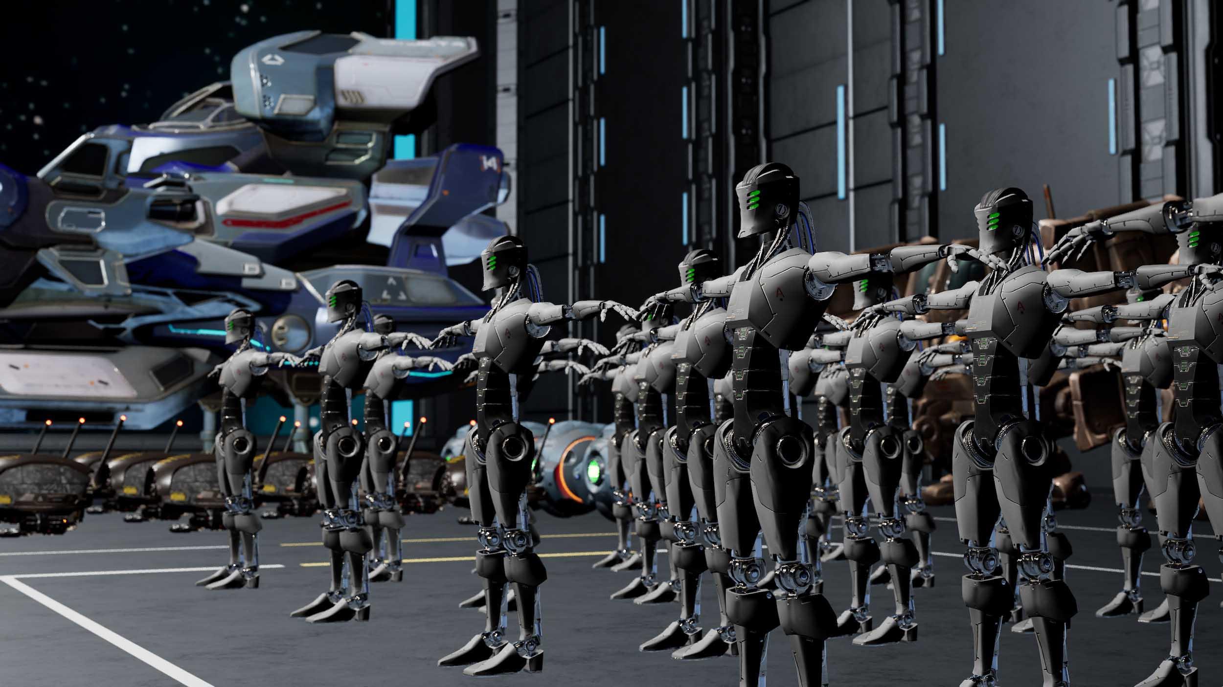 Robot Revolt et BATTLEFIELD