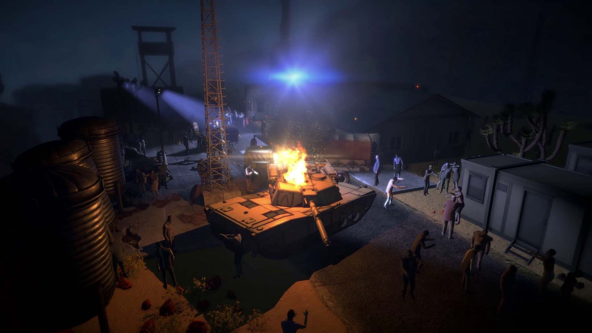 Chasse aux zombies Extraction Point